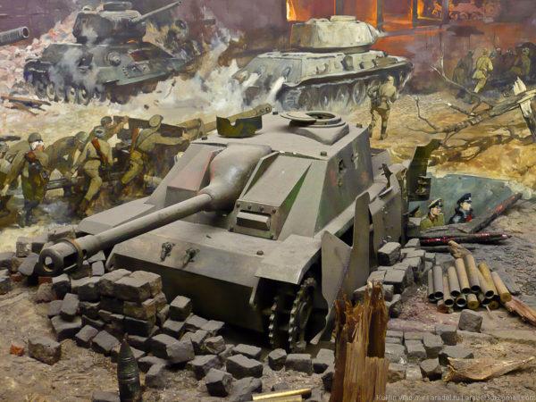 Музей победы диорама Берлин