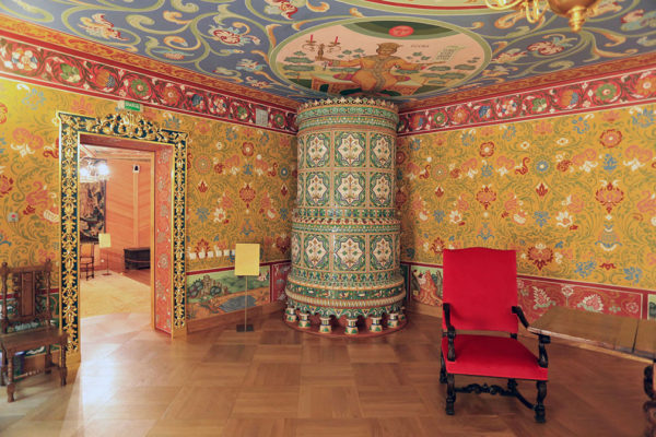 Коломенский дворец /царицы