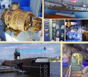 Подводная лодка+Музей ВМФ